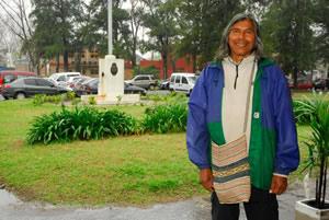 La comunidad qom se vinculó con la FAUBA en 2011, cuando Félix Díaz visitó la facultad junto a Osvaldo Bayer