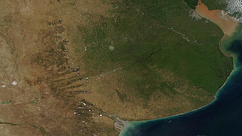MODIS-NASA - Río de la Plata