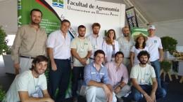 Emprendedores de la FAUBA en Expoagro