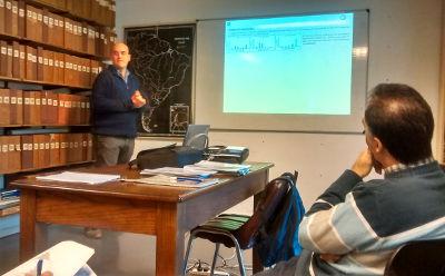 Nicolás Zeballos expone su tesis