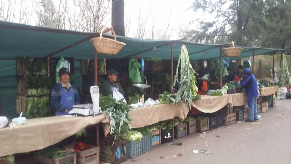 Productores de la Asociación 1610 en la Feria del Productor al Consumidor de Agronomía