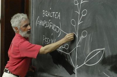 Clase de Botanica con Diego Medan