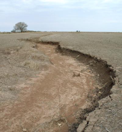 erosión hídrica