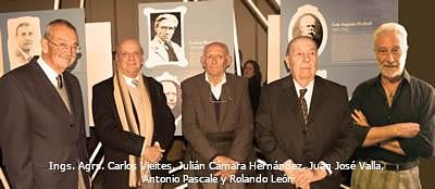 En el año 2011, Universidad de Buenos Aires reconoció al Ingeniero Agrónomo Carlos Vieites (izq.) como Gran Maestro de la UBA
