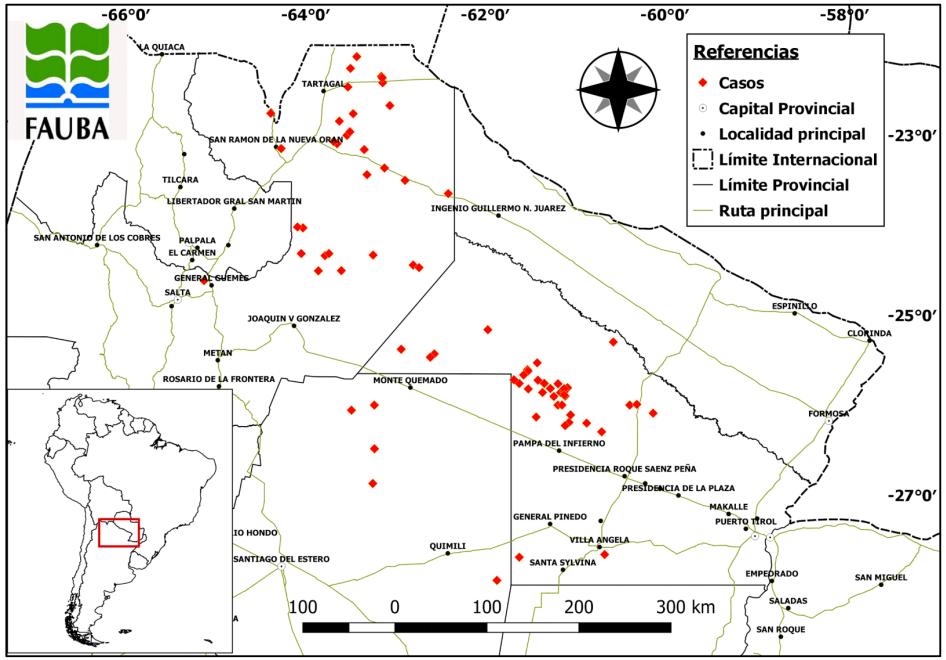 Blum realizó su estudio en Santiago del Estero, Salta y Chaco, las tres provincias más deforestadas de las últimas décadas. Entre 1998 y 2016 concentraron el 65% de la superficie desmontada de todo el país
