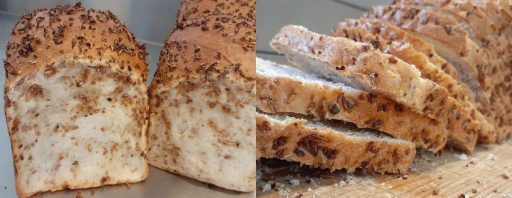 """""""El pan lactal se puede envasar para prolongar su vida útil. A su vez, si no se vende rápido, se puede convertir en tostada y tener una buena salida. Ambos productos presentaron un buen perfil sensorial que incluyó el aroma a cerveza"""" (K. Auil Cerdán)"""